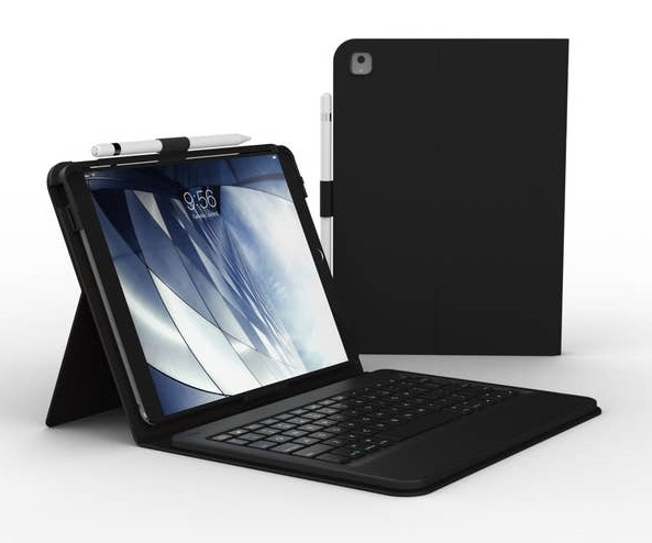 Zagg Messenger Folio Keyboard Cover Case for 10.5 Inch iPads