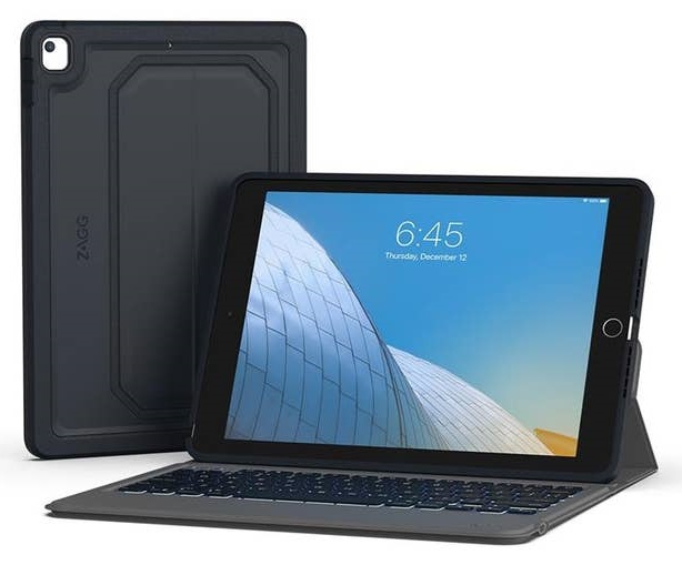 Zagg Rugged Messenger Keyboard Cover Case for 10.2 Inch iPad (7th Gen)