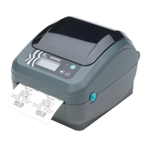 Zebra GX420D 203DPI Direct Thermal Label Printer - Bluetooth Serial USB