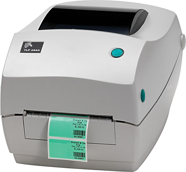 Zebra TLP2844 Desktop 203DPI Serial, Parallel, USB Thermal Transfer Label Printer