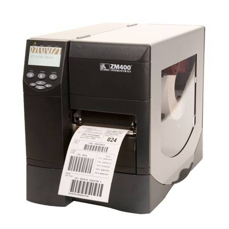 Zebra ZM400 Mid Range 300DPI Serial, Parallel, USB, Thermal Transfer Label Printer